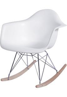 Poltrona Eames Dar Balanço Or-1122 – Or Design - Branco