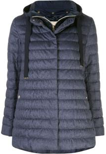 Herno Hooded Padded Jacket - Azul