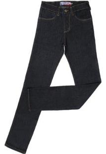 Calça Jeans Rodeo Western Masculina - Masculino-Preto