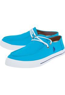 Sapatênis Polo Hpc Bordado Azul