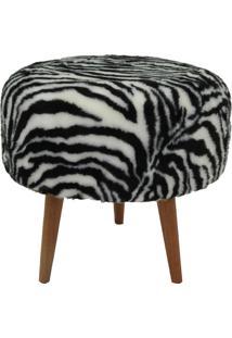 Puff 7002 439-Tecno Mobili - Natural / Zebra