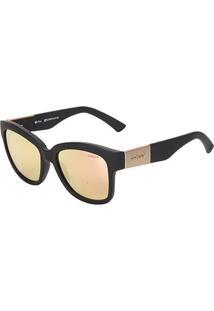 Óculos De Sol Colcci Tina C0014A1446 Feminino - Feminino-Preto