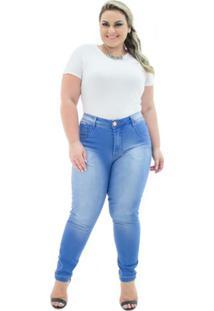 8a9e988a21 Plus Size Azul Tom Claro feminino
