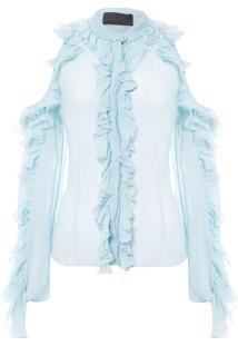 Blusa Feminina Palma - Azul