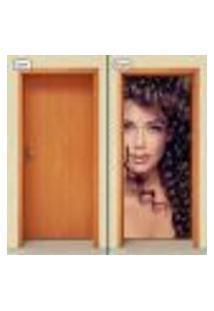 Adesivo Decorativo De Porta - Salão De Beleza - 1071Cnpt