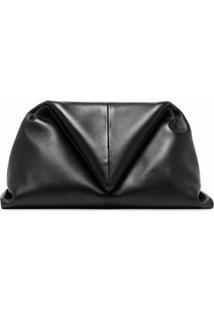 Bottega Veneta Clutch Envelope - Marrom