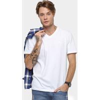 a00e07259e Camiseta Cavalera Básica Gola V Masculina - Masculino