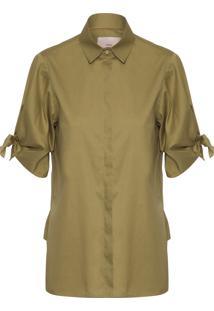 Camisa Feminina Florência - Verde
