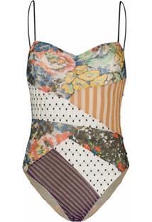 Missoni Mare Maiô Com Estampa Swim Suit - Preto