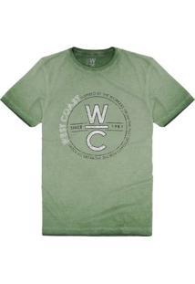 T-Shirt Since 1987 Pinheiro - Masculino-Verde