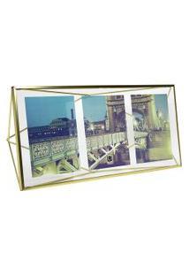Porta-Retrato Tri Prisma 13 Cm X 18 Cm - Umbra