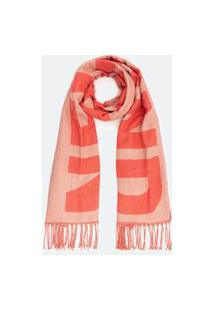 Cachecol Lettering Nevermind | Accessories | Coral | U