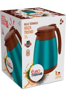 Bule Termico Ibiza Trend 1 Litro Turquesa Euro Home
