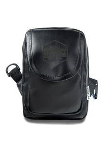 Shoulder Bag Mini Bolsa Lateral Ombro Necessaire Transversal Preto
