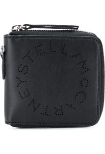 Stella Mccartney Carteira Com Logo - Preto