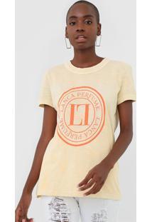 Camiseta Lança Perfume Tie Dye Amarela - Kanui