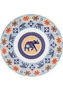 Conjunto De 6 Pratos Fundos 24Cm Coup Shanti - Multicolorido - Dafiti