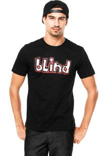 Camiseta Blind Logo Preta