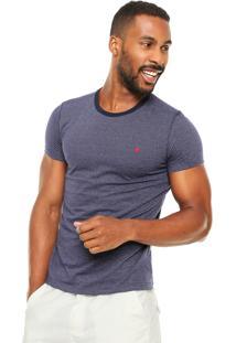 Camiseta Malwee Textura Azul