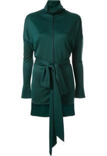 Layeur Tie Waist Blouse - Verde