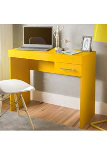 Escrivaninha Cooler 1 Gaveta Amarelo - Artely