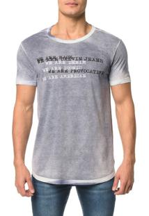 Camiseta Ckj Mc Estampa We Are Denim - Ggg