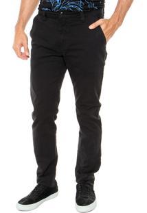 Calça Sarja Calvin Klein Jeans Skinny Preta