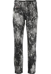 Diesel Calça Jeans Slim D-Joy - Preto