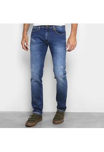 Calça Jeans Colcci Alex Masculina - Masculino-Jeans
