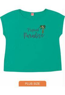Blusa Verde Com Apliques Wee!