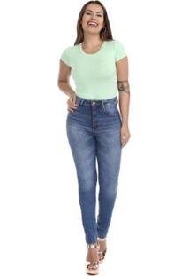 Calça Jeans Feminina Super Lipo - Feminino