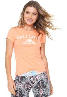 Camiseta Billabong Cali Love Laranja
