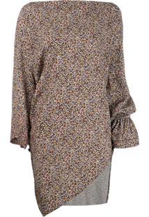 Vivienne Westwood Anglomania Blusa Com Estampa Floral - Preto