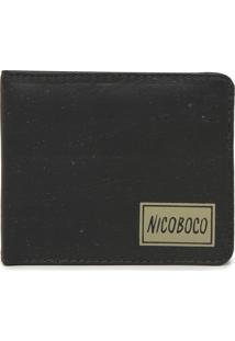 Carteira Couro Nicoboco Different Cinza