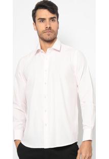 Camisa Lisa Com Bordado- Cinza & Pretaaleatory