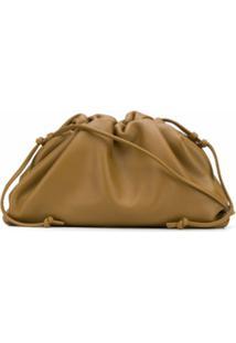 Bottega Veneta Bolsa Transversal The Pouch Mini - Marrom