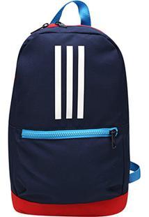 Mochila Adidas Classic - Unissex-Azul+Vermelho