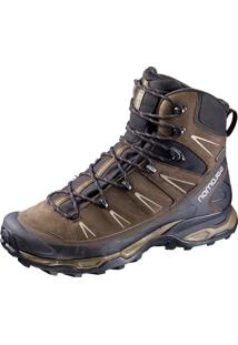 Bota Salomon X Ultra Trek Gtx® M Marrom/Preto