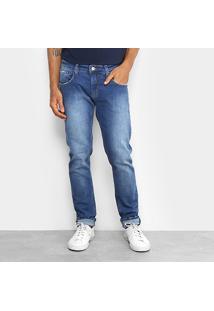 Calça Skinny Forum Igor Estonada Masculina - Masculino-Jeans
