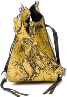 Isabel Marant Bolsa Tiracolo Radja Com Cordão De Ajuste - Amarelo