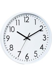 Relógio Ralph Branco E Preto 20X20X3,8 Cm