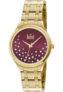 866c807a7f0 Relógio Analógico Dumont Swarovski feminino