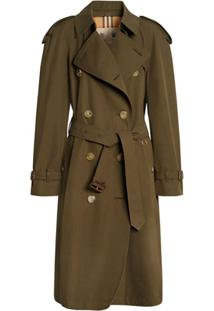 Burberry The Westminster Heritage Trench Coat - Verde