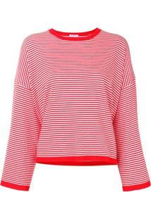 P.A.R.O.S.H. Blusa Listrada - Vermelho