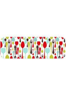 Passadeira Love Decor Wevans Cutlery Colors Verde - Kanui