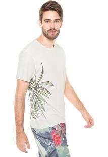 Camiseta Reserva Estampa Lateral Off-White