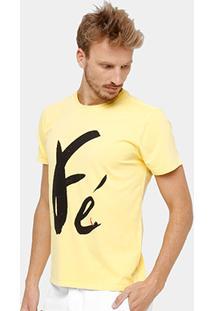 Camiseta Reserva Fé Masculina - Masculino