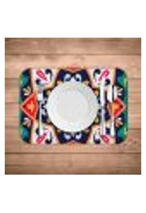 Jogo Americano Wevans Mandala Green Kit Com 4 Pçs