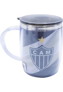 Caneca Minas De Presentes Atlético Mineiro Preta - Kanui