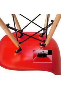 Conjunto 2 Cadeiras Eiffel Eames Dsw Vermelha